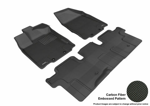 NISSAN PATHFINDER 2013-2019 KAGU BLACK Front/2nd Row Package W/O 3rd Row
