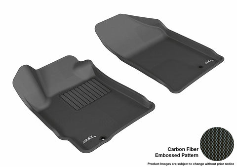 NISSAN ALTIMA COUPE/ SEDAN 2007-2012 KAGU BLACK Front Row