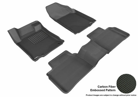 NISSAN ALTIMA 2013-2015 SDN KAGU BLACK Front/2nd Row Package