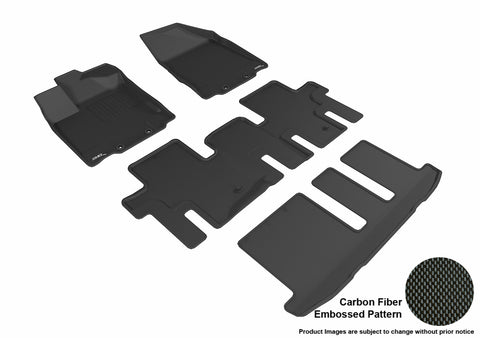 NISSAN PATHFINDER 2013-2019 KAGU BLACK Complete 3 Row Package