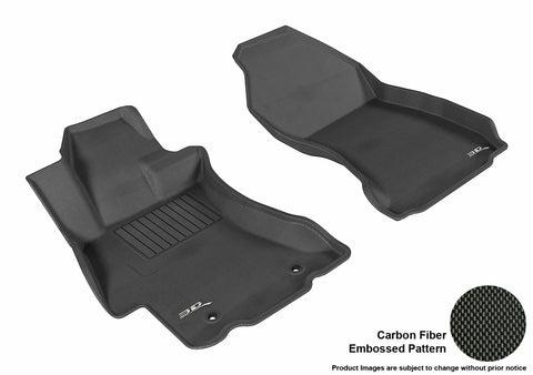 SUBARU WRX/ WRX STI 2015-2018 KAGU BLACK Front/2nd Row Package