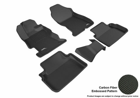 SUBARU IMPREZA 2017-2019/ CROSSTREK 2018-2019 KAGU BLACK Front/2nd Row Package