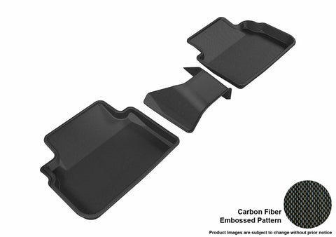 SUBARU IMPREZA 2017-2019/ CROSSTREK 2018-2019 KAGU BLACK 2nd Row (3PCS)