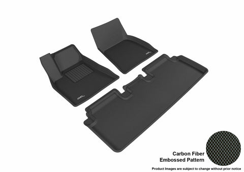 TESLA MODEL S 2012-2017 KAGU BLACK Front/2nd Row Package