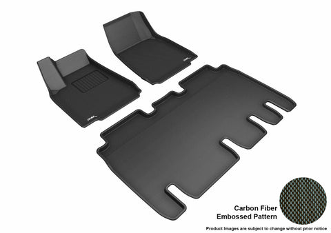 TESLA MODEL X 5-SEATS 2016-2019 KAGU BLACK Front/2nd Row Package
