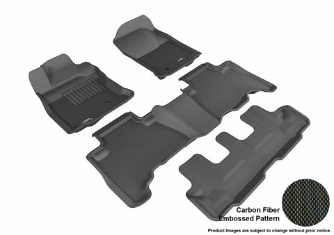 TOYOTA 4RUNNER 2010-2012 KAGU BLACK Complete 3 Row Package (HOOK)