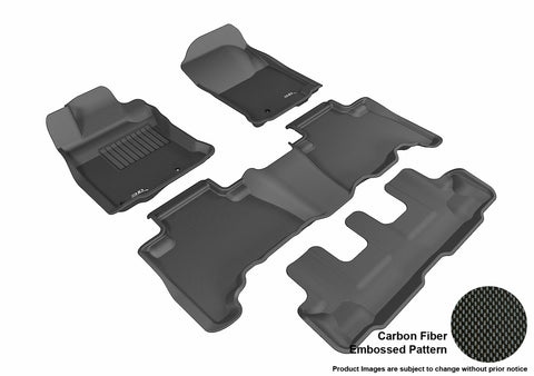 TOYOTA 4RUNNER 2013-2019 KAGU BLACK Complete 3 Row Package (POST)