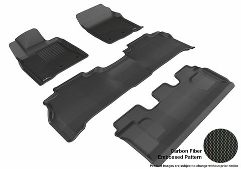 TOYOTA LAND CRUISER 2012-2019 KAGU BLACK Complete 3 Row Package (POST)
