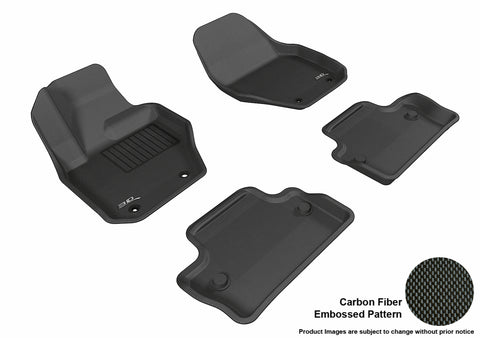 VOLVO S60 2011-2018/ V60 2015-2018 KAGU BLACK Front/2nd Row Package
