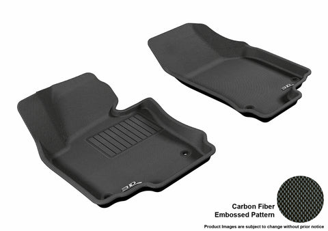 VOLKSWAGEN JETTA 2005-2010/ GOLF 2006-2013 KAGU BLACK Front Row