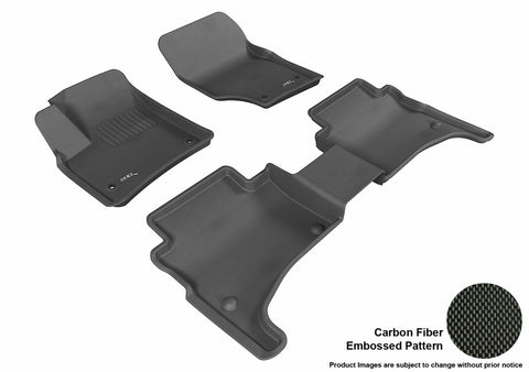 VOLKSWAGEN TOUAREG 2003-2010 KAGU BLACK Front/2nd Row Package