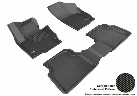 VOLKSWAGEN TIGUAN 2009-2017/ TIGUAN LIMITED 2018-2019 KAGU BLACK Front/2nd Row Package