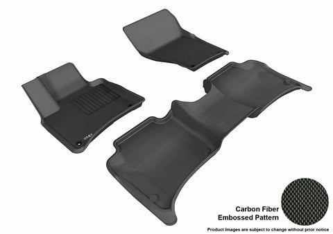 VOLKSWAGEN TOUAREG 2011-2017 KAGU BLACK Front/2nd Row Package