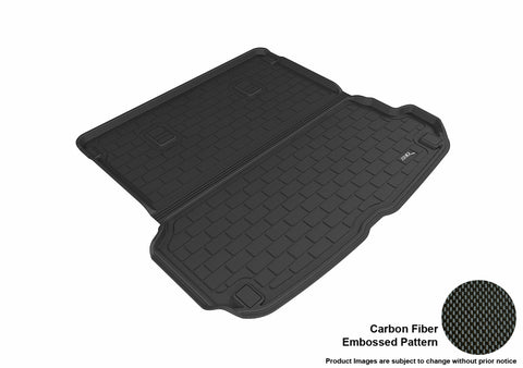 AUDI Q7 2017-2019 KAGU BLACK BEHIND 2ND ROW STOWABLE CARGO LINER