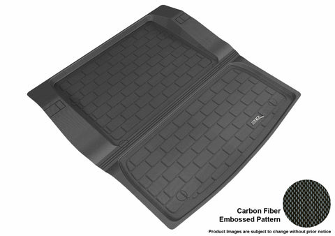 BMW 3 SERIES SEDAN 2012-2018 KAGU BLACK CARGO LINER