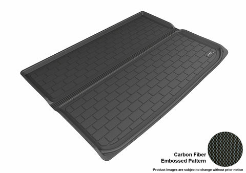 CHEVROLET SUBURBAN 2015-2019 KAGU BLACK BEHIND 3RD ROW STOWABLE CARGO LINER