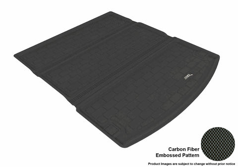 DODGE DURANGO 2011-2019 KAGU BLACK BEHIND 2ND ROW STOWABLE CARGO LINER