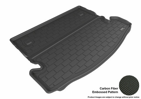 NISSAN ROGUE 7-SEAT 2014-2019 KAGU BLACK BEHIND 2ND ROW STOWABLE CARGO LINER