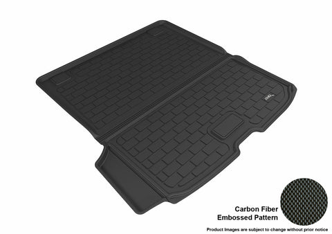 VOLVO XC90 2015-2019 KAGU BLACK BEHIND 2ND ROW STOWABLE CARGO LINER