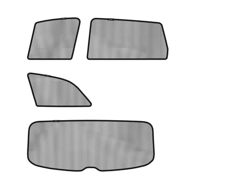 3D SOLTECT Sunshade for AUDI Q7 2005-2015 7pc Complete Side & Rear Windows