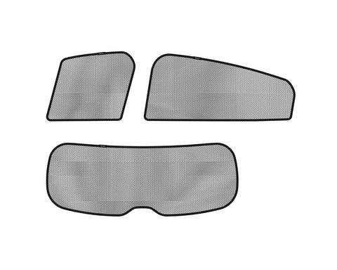 3D SOLTECT Sunshade for HONDA HR-V 2015-2017 5pc Complete Side & Rear Windows