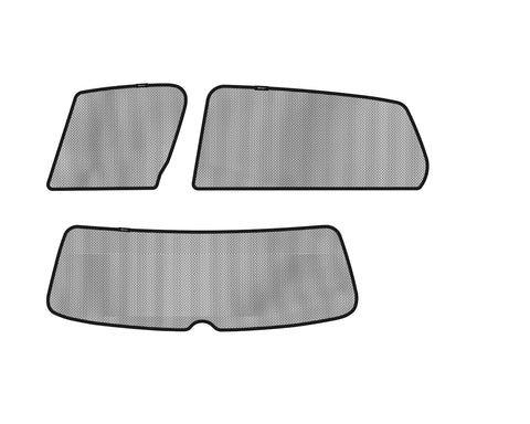 3D SOLTECT Sunshade for VOLKSWAGEN GOLF 5-DOOR HATCHBACK 2014-2017 5pc Complete Side & Rear Windows