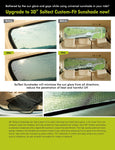 3D SOLTECT Sunshade for TOYOTA COROLLA 2014-2017 5pc Complete Side & Rear Windows