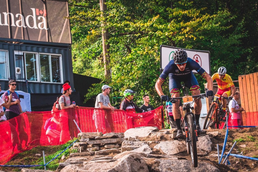 MSC Tires - Mont Sainte Anne - Vlad Dascalu, u23 World Champ