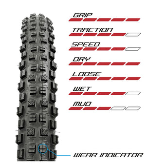 GRIPPER 27.5 X 2.30 TUBELESS READY 3C DH RACE SUP