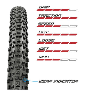 TRACTOR 29 X 2.20 TUBELESS READY 2C XC RACE PRO SKINWALL