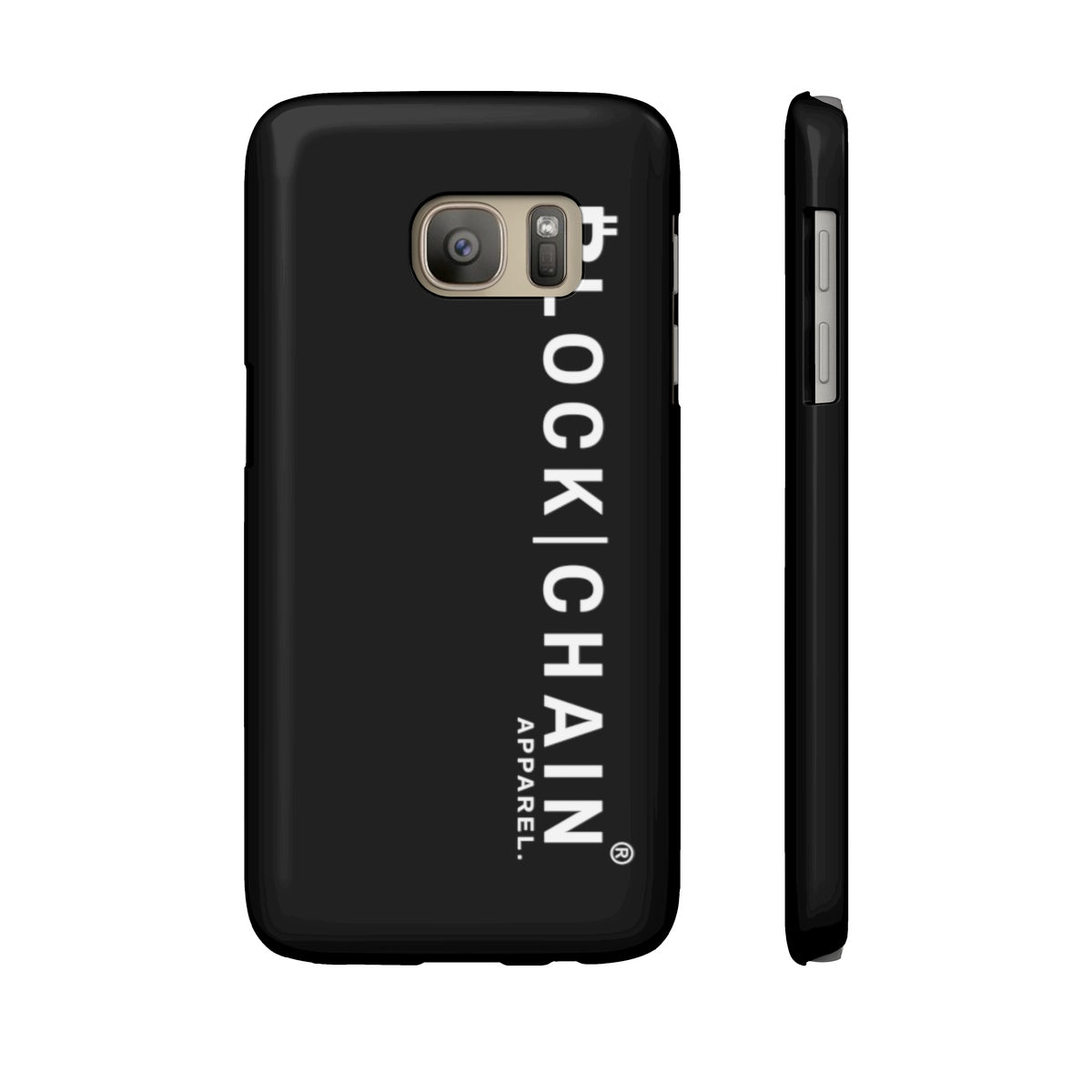 BLOCKCHAIN APPAREL PHONE CASE