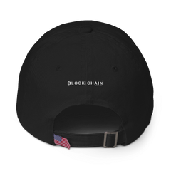 HODL STRAP BACK HAT BLACK
