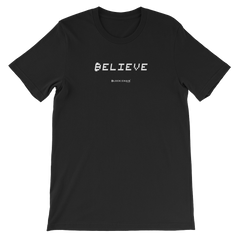 BELIEVE IN BLOCKCHAIN TECH TEE BLACK
