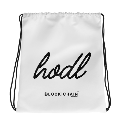 BLOCKCHAIN APPAREL DRAW STRING BAG