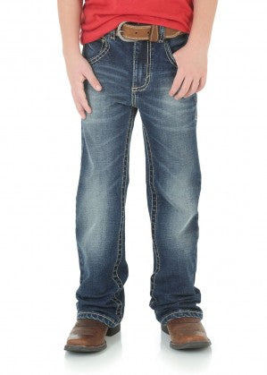 WRANGLER BOYS 20X 42 VINTAGE BOOT JEAN - JUNIOR