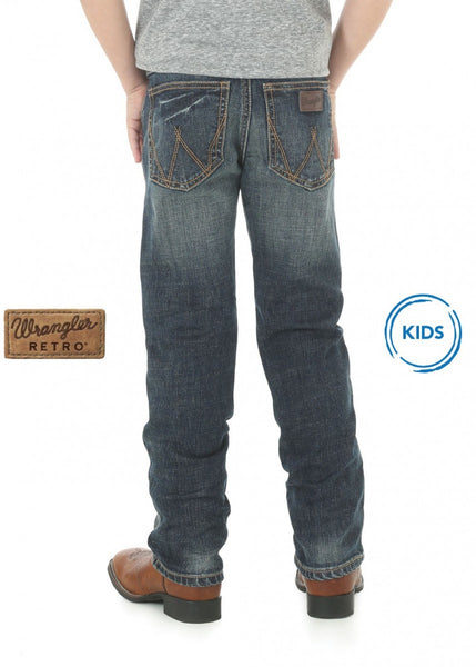 WRANGLER BOYS RETRO SLIM STRAIGHT JEAN
