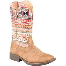 ROPER COWGIRL AZTECA BOOTS