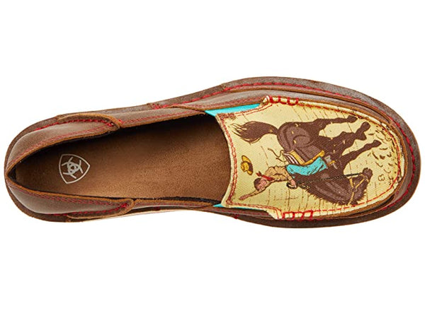 Ariat Ladies Cruiser Wicker / Cowboy print