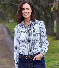 THOMAS COOK LADIES JULIET PRINT SHIRT