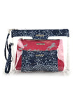 Thomas Cook TC Cosmetic Bag (Set of 3) Dark Navy/White/Pink