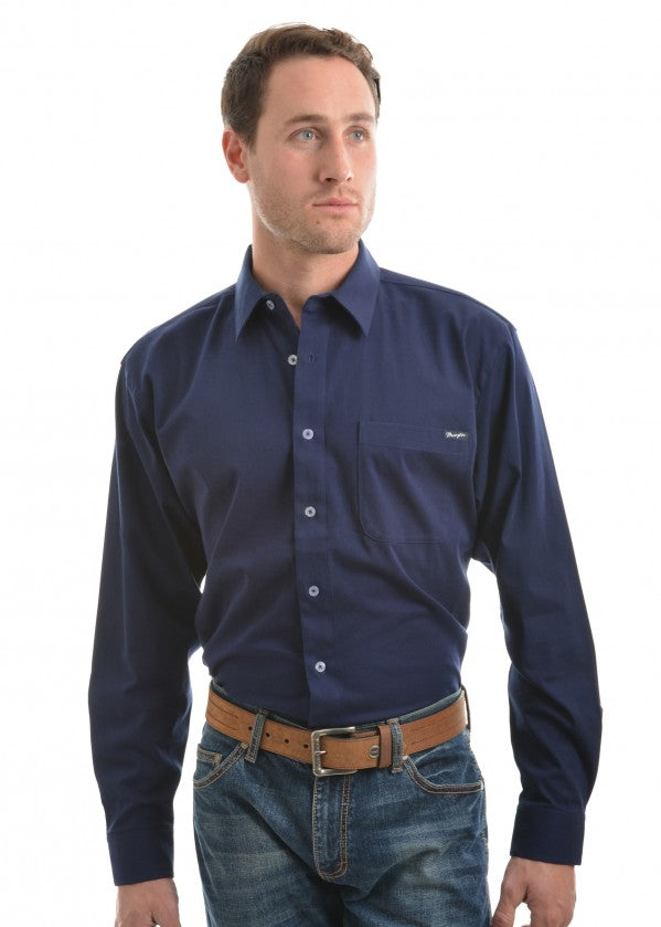 Wrangler Mens BARRINGTON Western Shirt