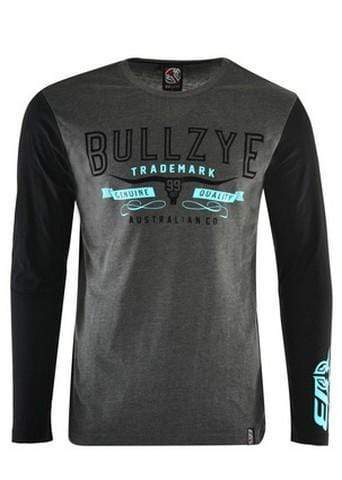Bullzye Mens Canyon Long Sleeve Tee