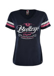 Bullzye Women's Captured V-Neck Tee