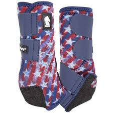 CLASSIC EQUINE LEGACY 2 Front Boots America Flag