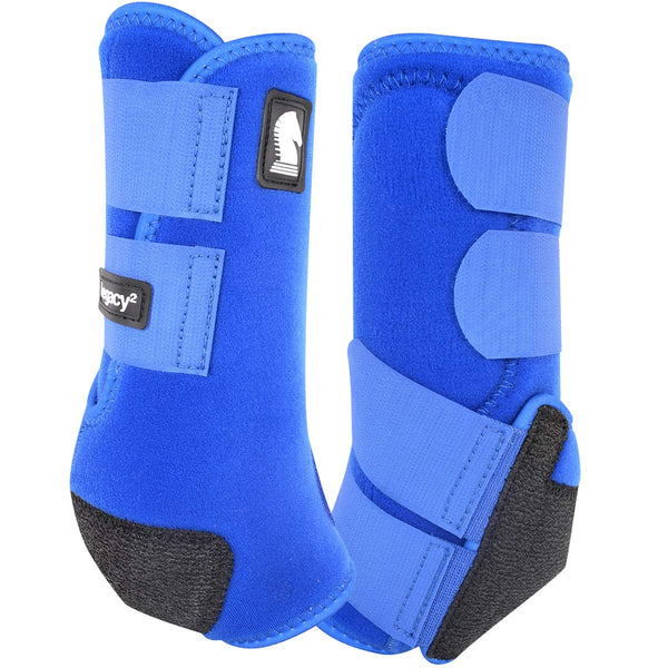 CLASSIC EQUINE LEGACY 2 Front Boots BLUE