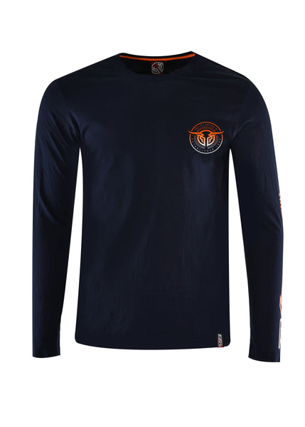 Bullzye Mens Crossroad Long Sleeve Tee