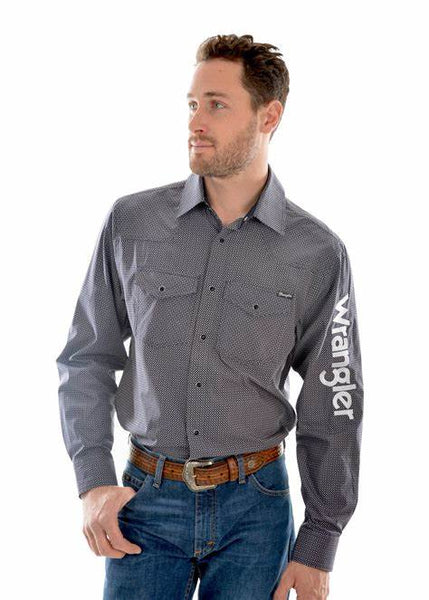 Wrangler Mens Eden Western Shirt 40% OFF WHILE STOCKS LAST