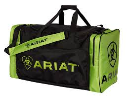 ARIAT GEAR BAG Green/Black