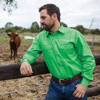 Mens Dress BRIGALOW Shirts (10 Different Colours)