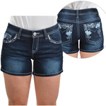 Pure Western LUCY Ladies Denim Shorts